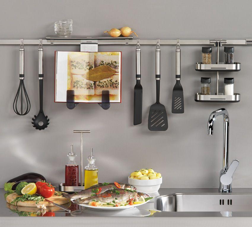 Brabantia p ka na przyprawy podw jna kitchen today for Accesorios de cocina