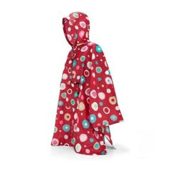 Reisenthel - Peleryna mini maxi poncho ruby dots 2
