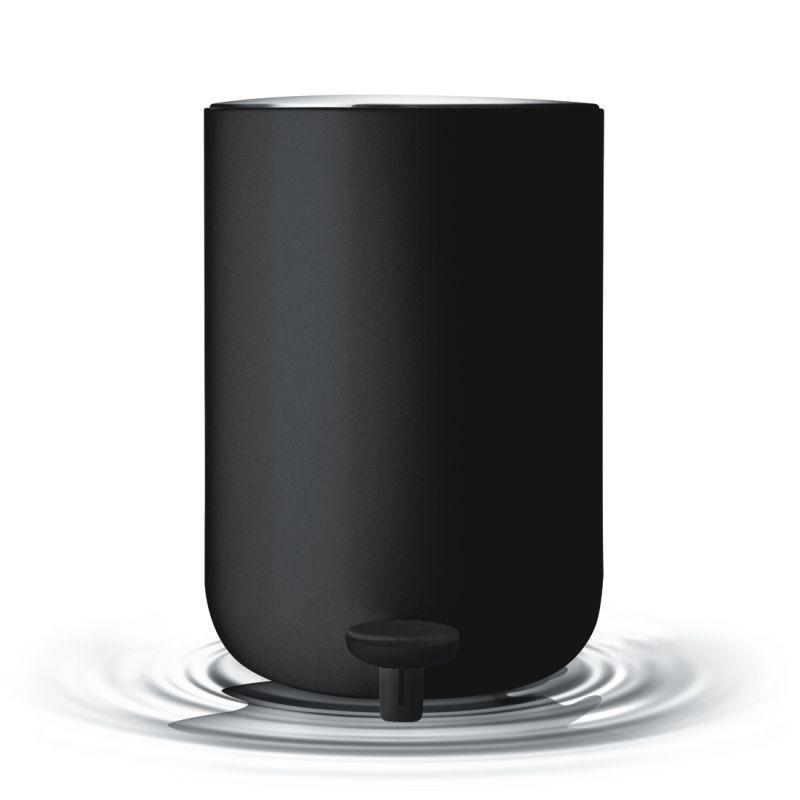 Menu Kosz Na śmieci łazienkowy Czarny