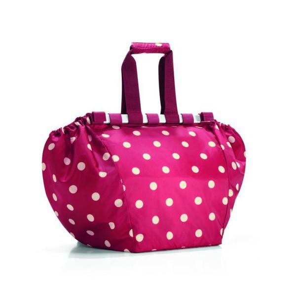 45f466219b4a6 Rewolucyjna torba na zakupy. Reisenthel - Torba Easyshopping 30 l ruby dots  Kliknij