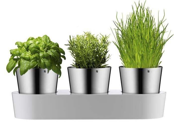 Wmf Doniczki Na Zioła Z Systemem Nawadniającym Herbs