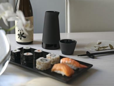 Magisso - Zestaw do Sake NATURALLY COOLING CERAMICS